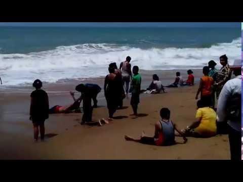 The Golden Beach is lovable Sea Beach at Puri