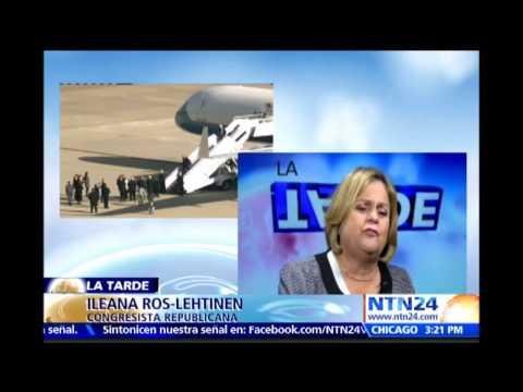 """Ileana Ros-Lehtinen aseguró que la vida de los cubanos """"no va a cambiar por los acuerdos con EE.UU."""""""