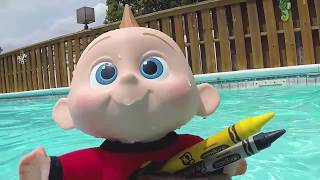 Baby Jack Jack Incredibles Family Back to School Supplies at Toy Hotel