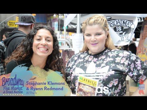 If/Then Stars at Broadway Flea Market - Ryann Redmond, Stephanie Klemons