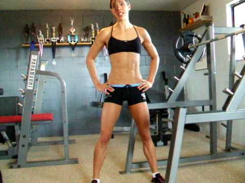 Fitness Tips with Chrissy Zmijewski: The Barbell Squat Image 1