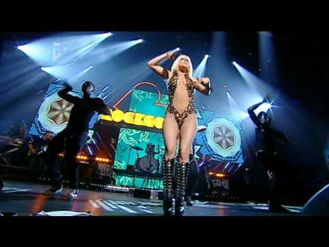 Lady Gaga - Poker Face (Live at Orange Rockcorps) Music Videos