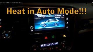 Mitsubishi Outlander PHEV - Defrost Heat Will START Your Engine