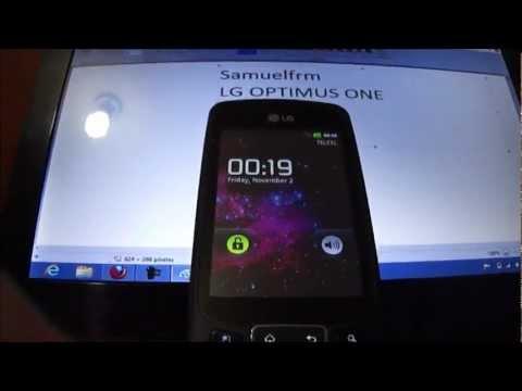 Actualizar-Desbrikear LG P500 Optimus One