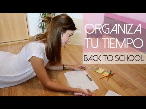 Back to school: Organiza tu tiempo y ten mejores resultados