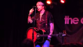 Ricky Warwick - Ace of Spades - Acoustic Tour - The Cluny Newcastle Upony Tyne 20/07/2013