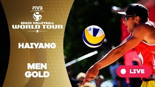 Haiyang 3-Star - 2018 FIVB Beach Volleyball World Tour - Men Gold Medal Match