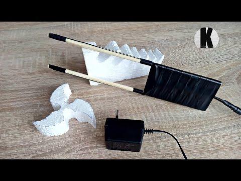 Как сделать резак для пенопласта? / How to make a machine for polystyrene foam?