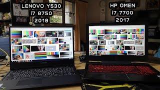 LENOVO Y530 2018 VS HP OMEN 2017