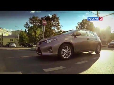 Тест-драйв Toyota Auris 2013