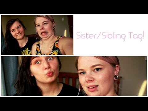 Sibling Tag With Justine Kaleidoscopecolours