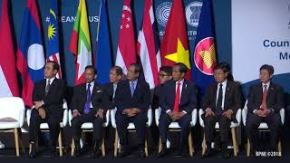 Penutupan Counter-Terrorism Conference, 17 Maret 2018