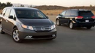 2011 Toyota Sienna vs. 2011 Honda Odyssey | Comparison Test | Edmunds.com