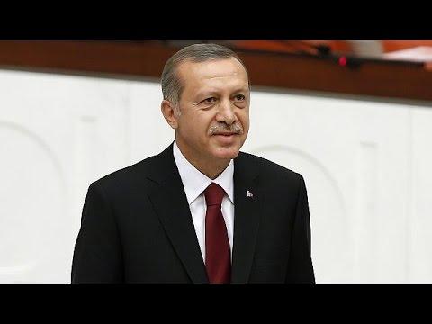 Erdogan als türkischer Präsident eingeschworen