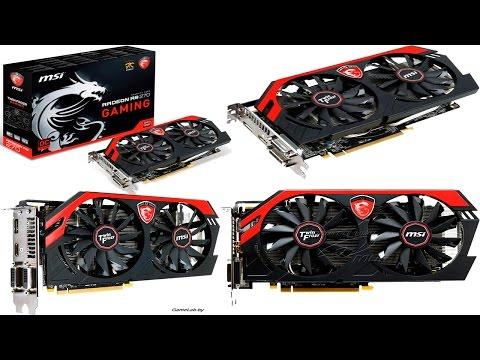 Распаковка и Тест Видеокарты  MSI AMD Radeon R9 270 GAMING 2G 2048MB 256bit