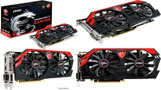 Распаковка и Тест Видеокарты MSI AMD Radeon R9 270 GAMING 2G 2048MB 256bit