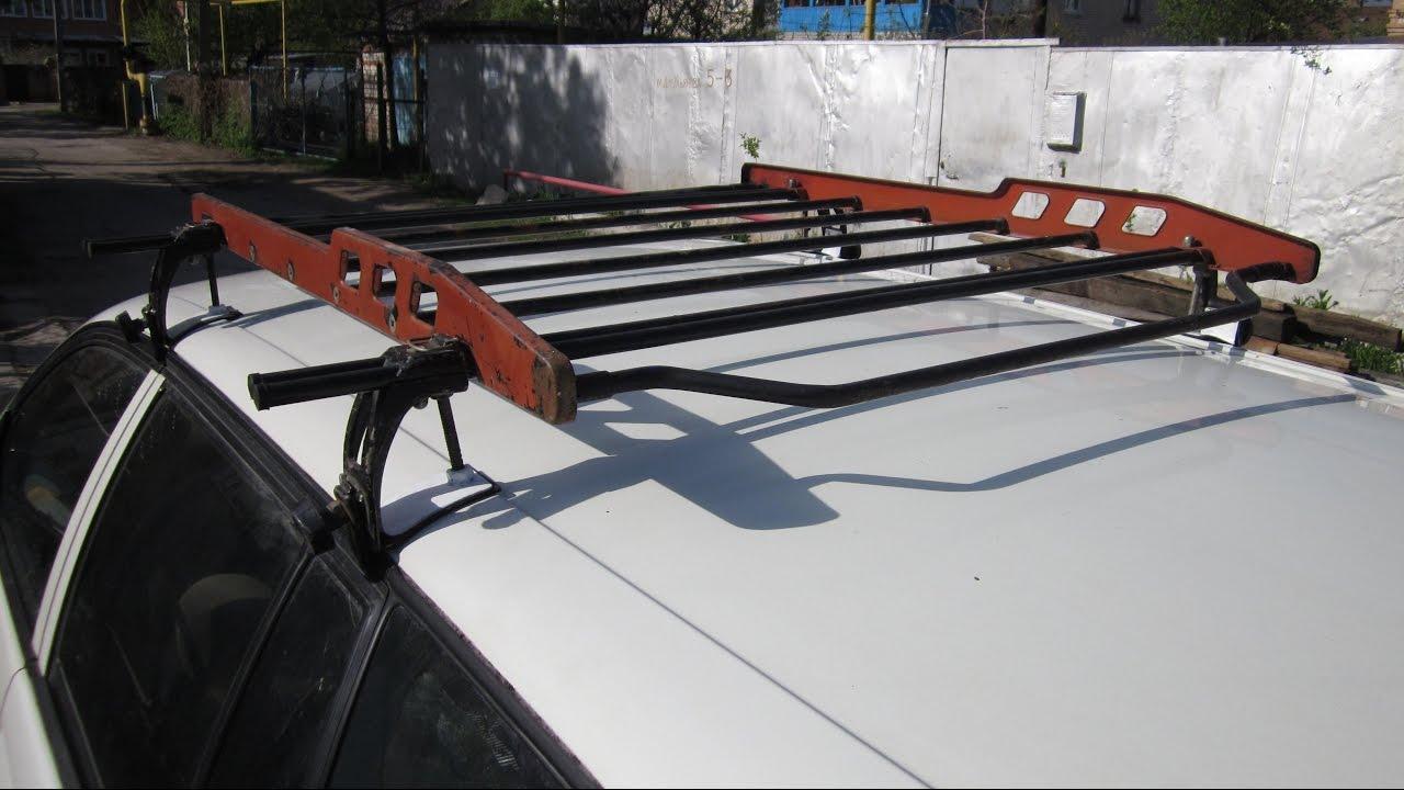 Крепеж багажника на крышу своими руками 15