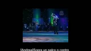 Andrea Bocelli Hayley Westenra Vivo Per Lei On Screen