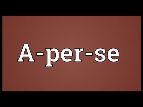 Header of a-per-se
