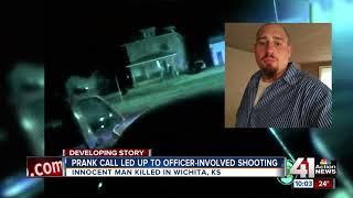 Police blame prankster for Wichita shooting