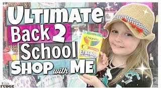 ULTIMATE Back 2 School SHOP with Me 2018! 🍎 Cutest School Supplies EVER!!