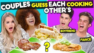 Couples Try Guessing Each Other's Cooking