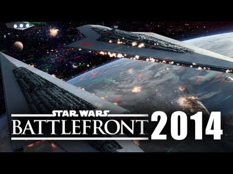 Star Wars Battlefront Space Multiplayer Gameplay E3 2014 Incoming Assault Squadron PS4 Xbox One PC
