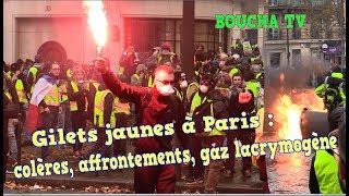 Les gilets jaunes Champs-Elysées 01Dec2018
