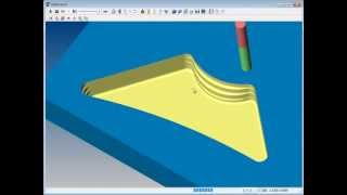 SURFCAM Tutorial - 3-Axis: Z-Rough - Multi-Tool Rest Roughing (New in SURFCAM 6)