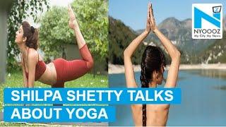 Shilpa Shetty Promotes NUDE Yoga   NYOOOZ TV
