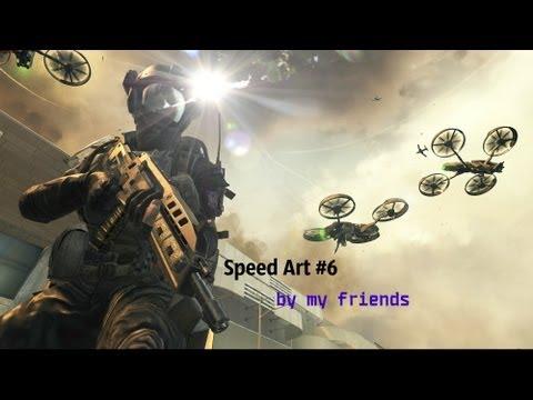 Speed Art #6 by my friends- CoD:BO 2!