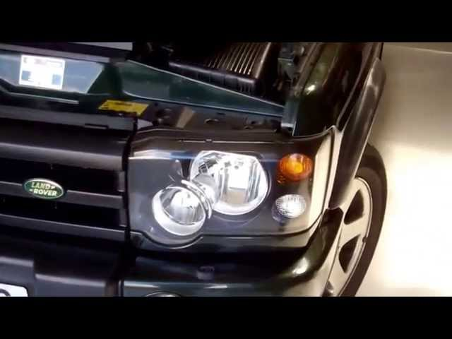 How to remove the grille and headlights on Land Rover ...