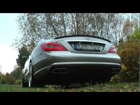 Mercedes CLS63 AMG Biturbo w/ Decatted Exhaust Teaser Video