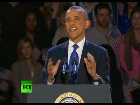 Barack Obama's Victory Speech 2012 (Full Video)