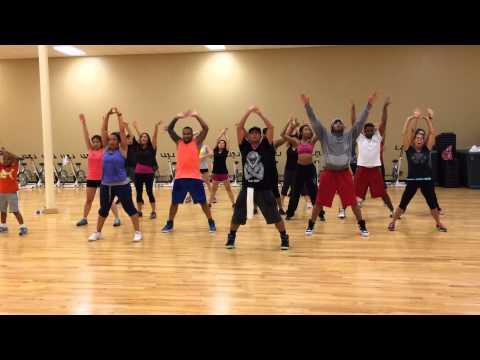 Ariana Grande Break Free (zumba   Hip Hop) video