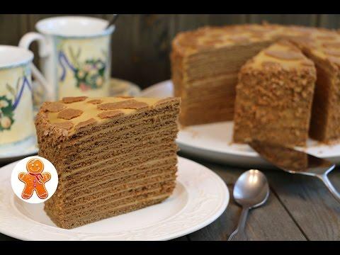 """Медовый Торт """"Коровка"""" ✧ Honey Cake (English Subtitles)"""