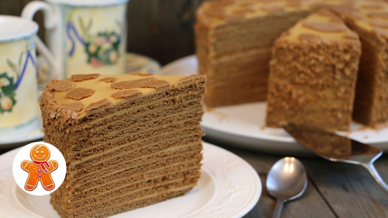 Торт посольский рецепт с фото