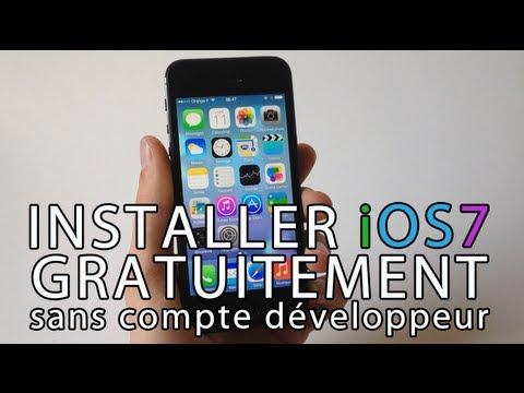 Installer gratuitement iOS 7 Beta sur iPhone. iPod touch & iPad sans compte développeur