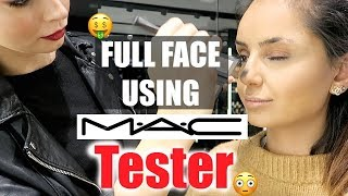 WTF 😮Full Face using MAC TESTER !! I Tamtam Beauty