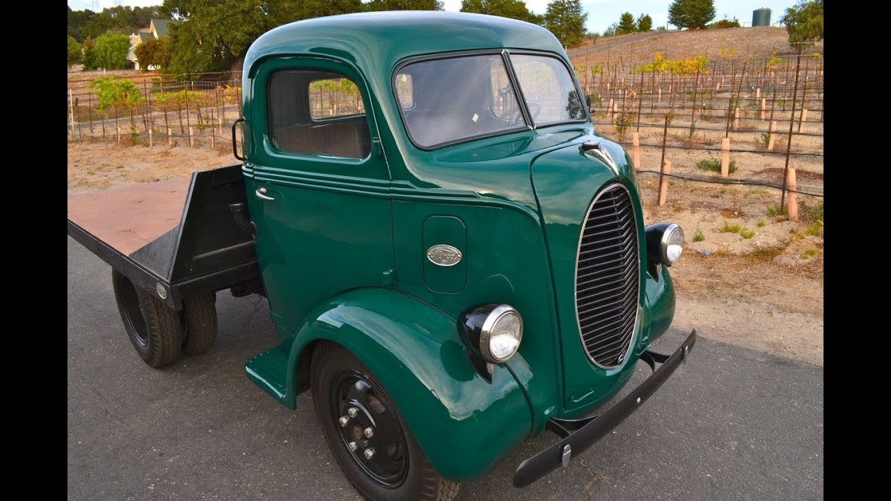 Sold 1939 Ford Coe Truck 50 Miles Flathead V 8 Youtube