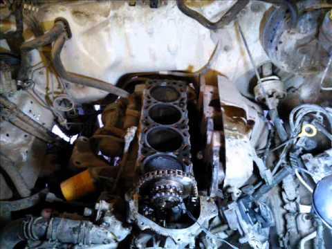 Motor Nissan 2 4 Lts Cambio De Junta De Cabeza Head