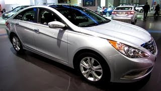 2013 Hyundai Sonata Limited - Exterior and Interior Walkaround - 2013 New York Auto Show