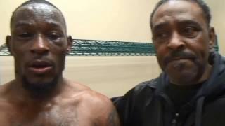 Tyrone Brunson talks about his win over Brandon Quarles