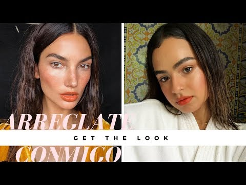 GET THE LOOK: LILY ALDRIDGE TROPICAL VIBES
