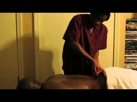 Deep Tissue Massage To The Back