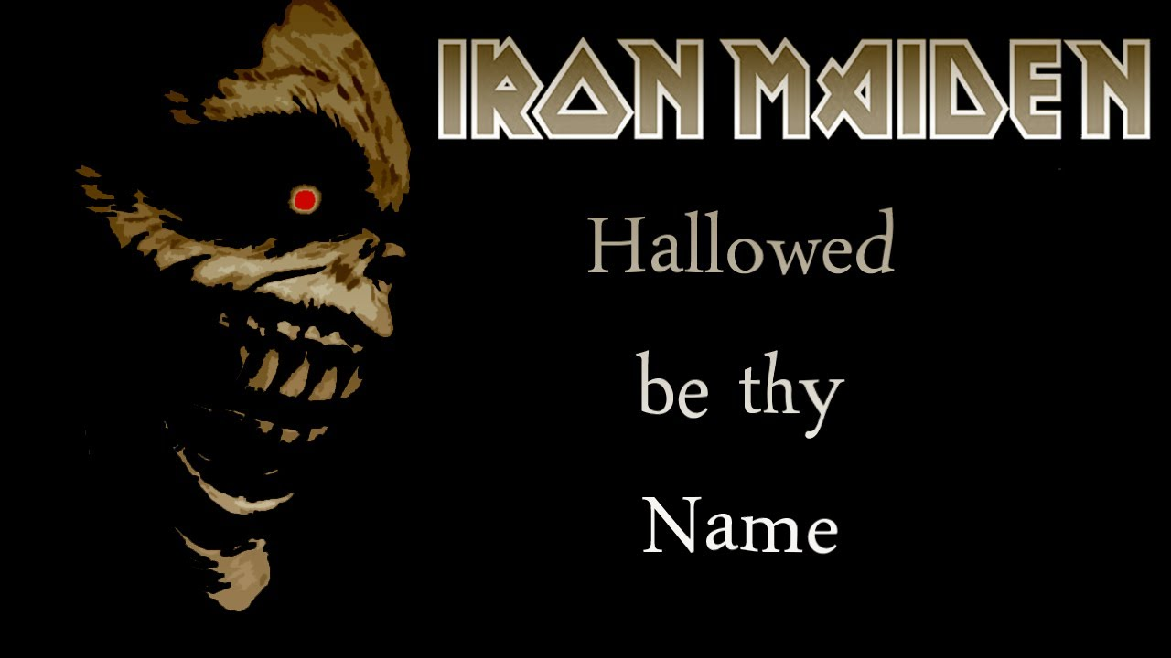Hallowed be thy name iron maiden guitar coverlingerie ver - 4 1