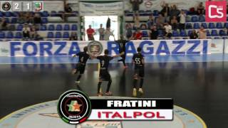 Calcio a 5, Serie C1: Italpol - Atletico New Team, highlights e interviste
