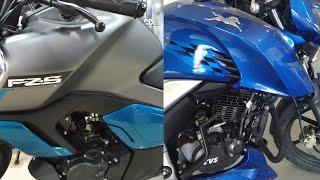 Yamaha FZS FI V3.0 versus TVS Apache 1604V- what is good for you?