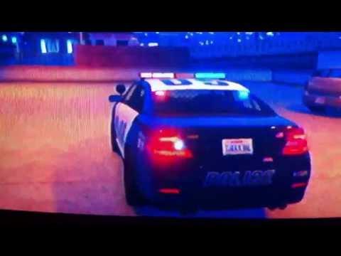 Grand Theft Auto V Police ford Taurus