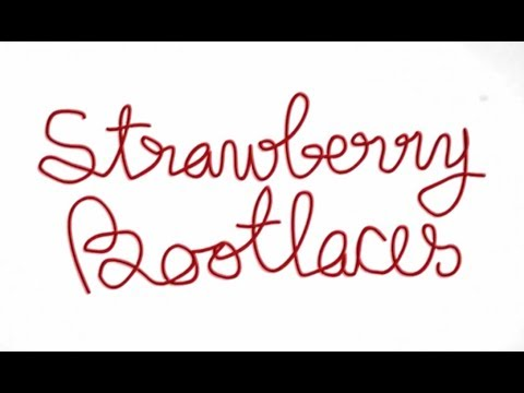 STRAWBERRY BOOTLACES